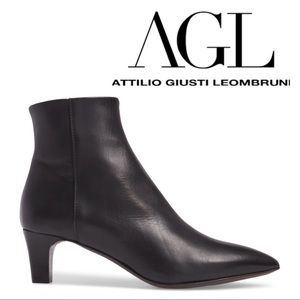 NWT❤️AGL Leather Bootie
